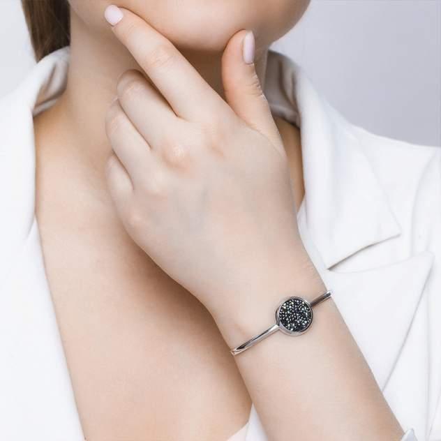 Браслет женский SOKOLOV из серебра с кристаллами Swarovski и фианитами 94050408 р.18