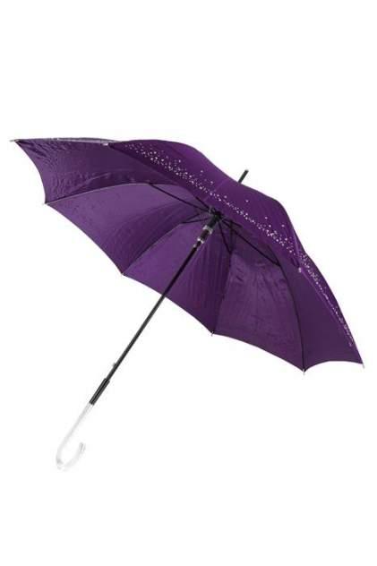 Зонт-трость женский полуавтоматический Sponsa 6061-3 фиолетовый