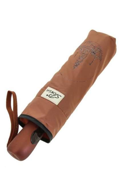 Зонт складной женский автоматический Sponsa 8013-10 коричневый