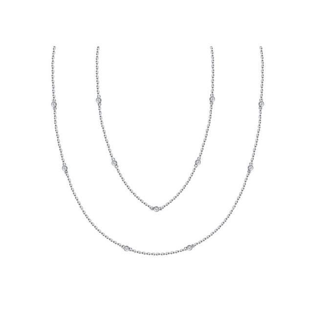Колье SOKOLOV из серебра с фианитами 94070130 45