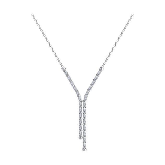 Колье SOKOLOV из серебра с фианитами 94074557 55