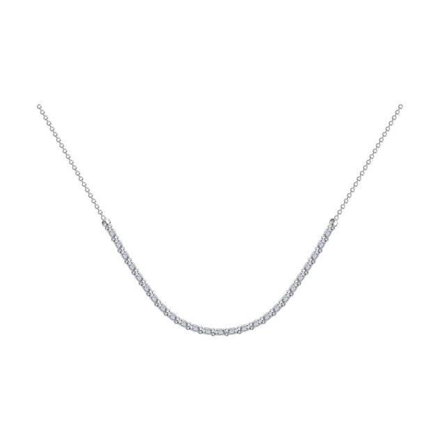Колье SOKOLOV из серебра с фианитами 94074560 50