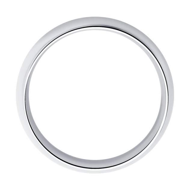 Обручальное кольцо женское SOKOLOV из серебра 94110030 р.15.5