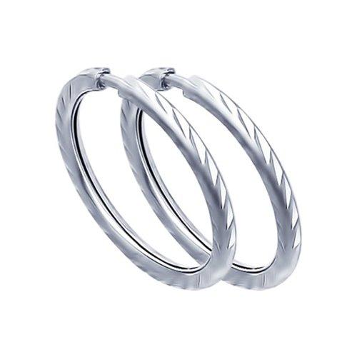 Серьги женские из серебра SOKOLOV 94140069, без вставки