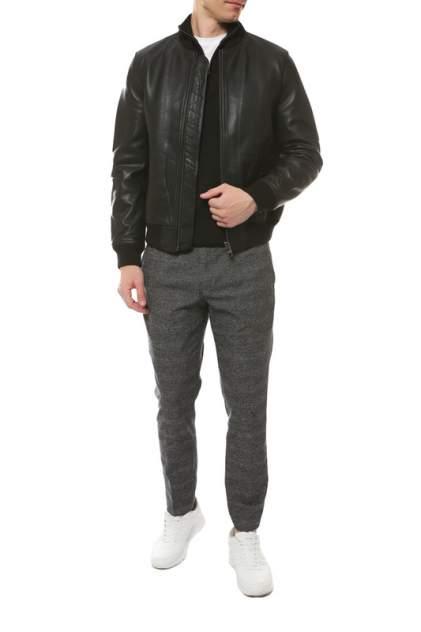Мужская кожаная куртка Tommy Hilfiger MW0MW11927, черный