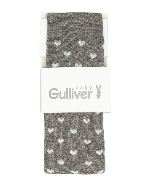 Колготки детские Gulliver, цв. серый р.74