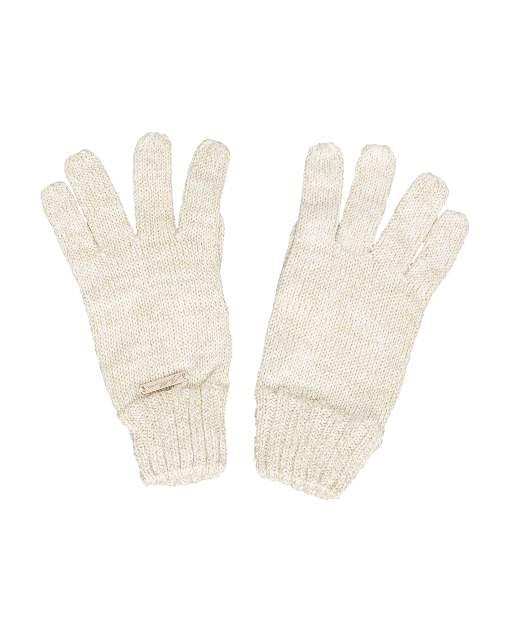 Перчатки для девочек Gulliver, цв. молочный, р.12