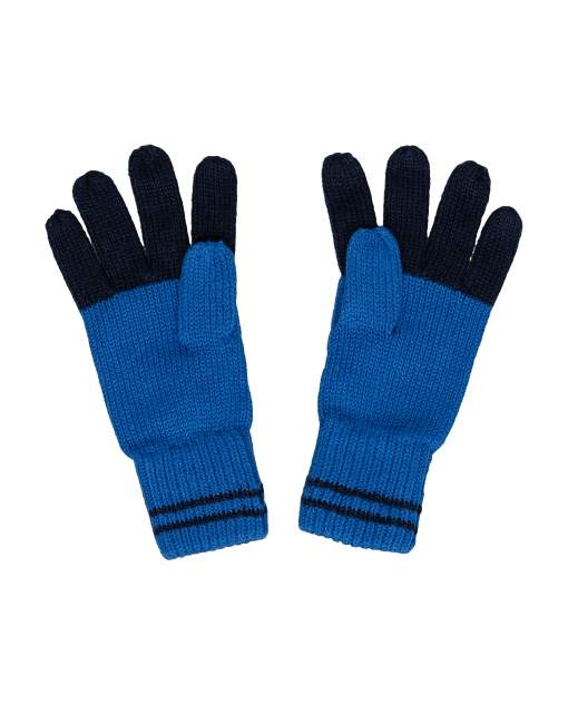 Перчатки для мальчиков Gulliver, цв. синий, р.12