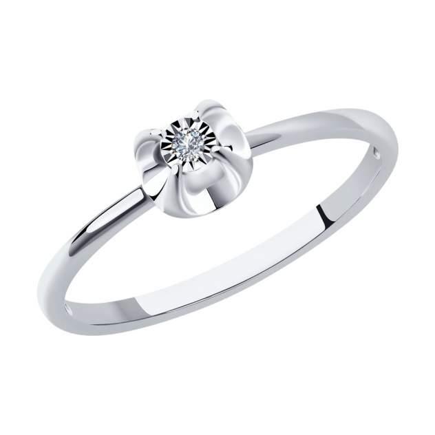 Кольцо женское SOKOLOV 1012106-3 р.17.5