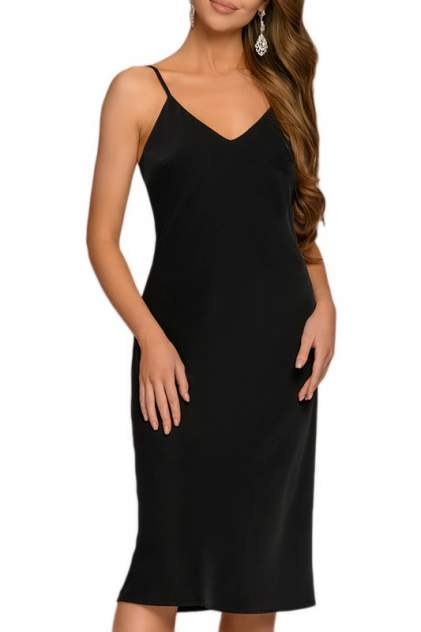 Женское платье D&M by 1001DRESS DM01846, черный