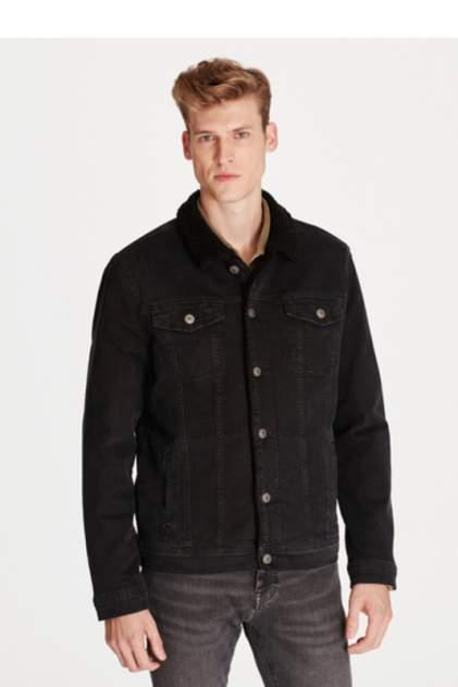 Джинсовая куртка мужская Mavi 115224846 серая XL