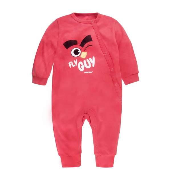 Комбинезон Bossa Nova Angry Birds красный, размер 92