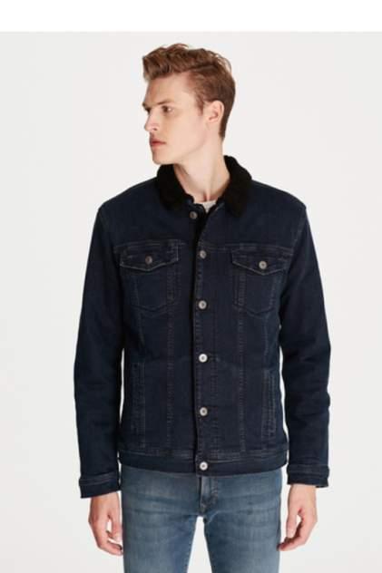 Джинсовая куртка мужская Mavi 115229627 синяя S