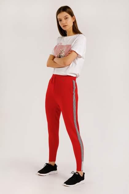 Брюки женские Finn-Flare B20-13101 красные 2XL