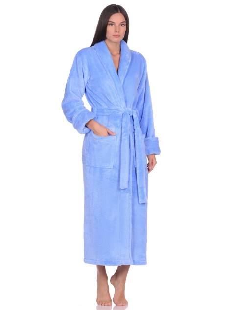 Домашний халат женский Peche Monnaie Tendre голубой M
