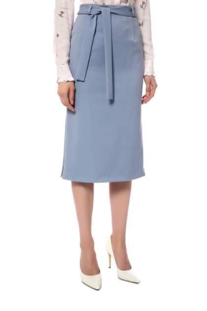 Юбка женская La Biali 3.3/119 SMOKY (голубая) голубая 52 RU