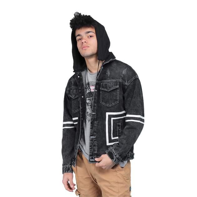 Мужская джинсовая куртка MOAV MV-JCT13-05, черный