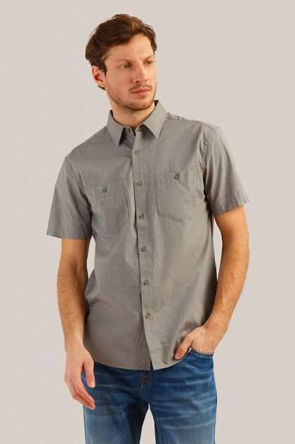 Рубашка мужская Finn-Flare S19-24016 серая 2XL