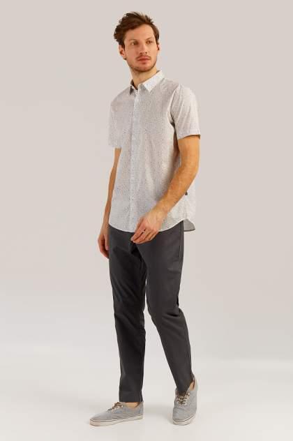 Рубашка мужская Finn-Flare S19-42012 белая 2XL