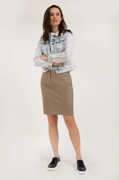 Куртка женская Finn Flare S20-15005 синяя 48