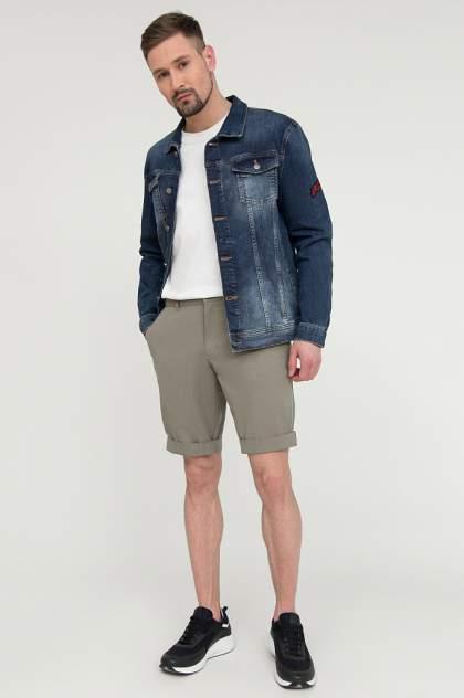 Джинсовая куртка мужская Finn Flare S20-25003 синяя 48
