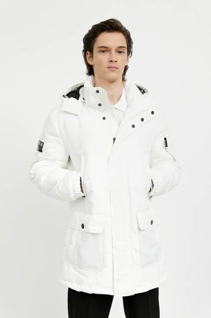 Полупальто мужское Finn Flare A20-22000 белое 56