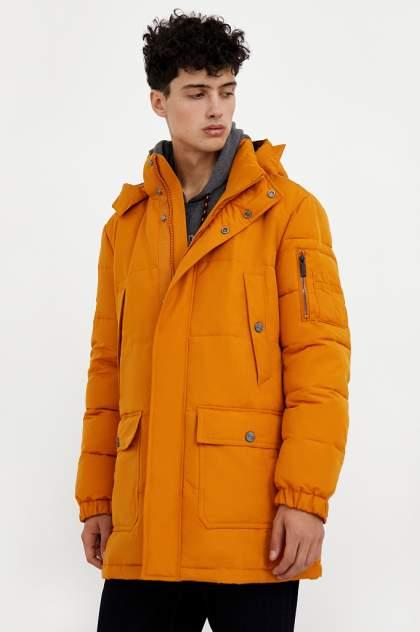 Полупальто мужское Finn Flare A20-22000 оранжевое 52