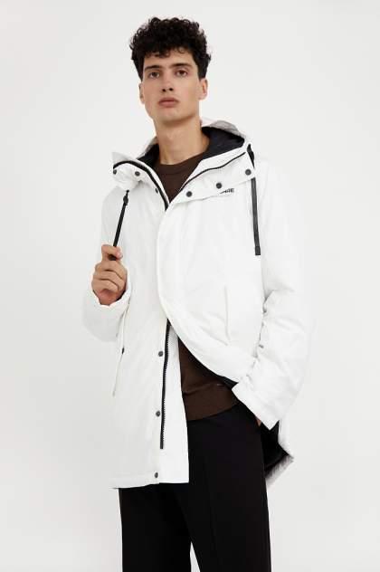 Пальто мужское Finn Flare A20-23008 белое 56