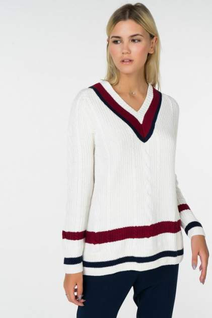 Пуловер женский Tommy Hilfiger DW0DW05143 белый XS