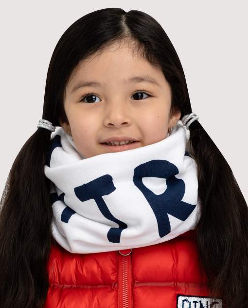 Снуд детский Gulliver, цв. белый р-р onesize