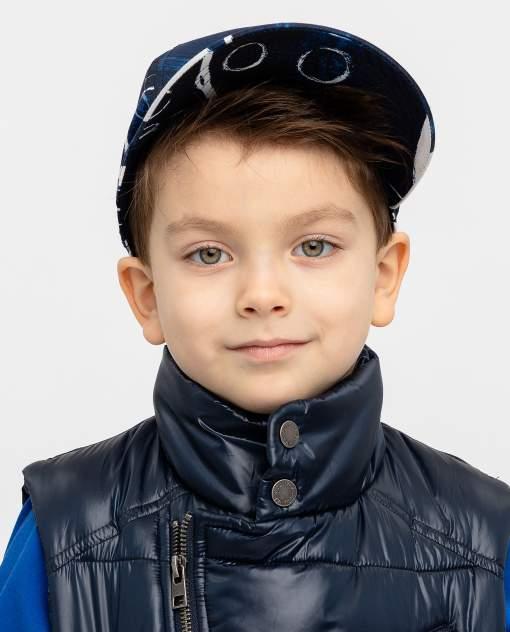 Кепка детская Gulliver, цв. синий р-р 50