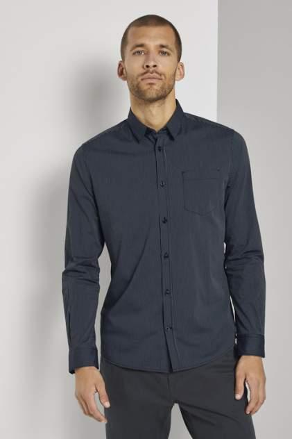 Рубашка мужская TOM TAILOR 1021065 синяя 54