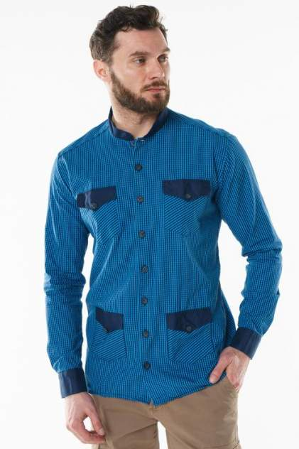 Рубашка мужская Sahera Rahmani 7210401, голубой