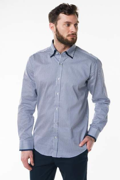 Рубашка мужская Sahera Rahmani 2287104-51 синяя 56