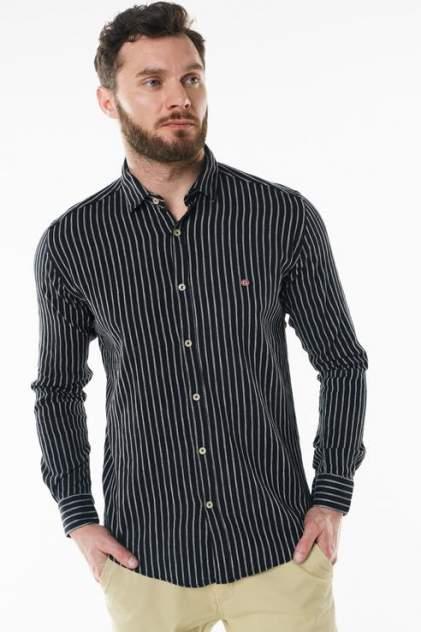 Рубашка мужская Sahera Rahmani 9011426-42 черная 56