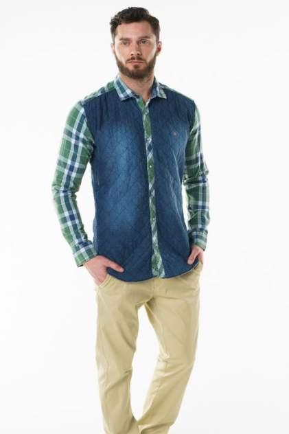 Рубашка мужская Sahera Rahmani 9011451-40 синяя 56