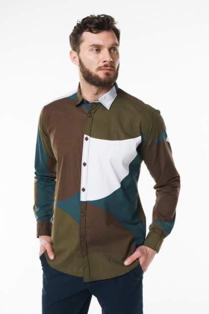 Рубашка мужская Sahera Rahmani 9011455-43 разноцветная 56