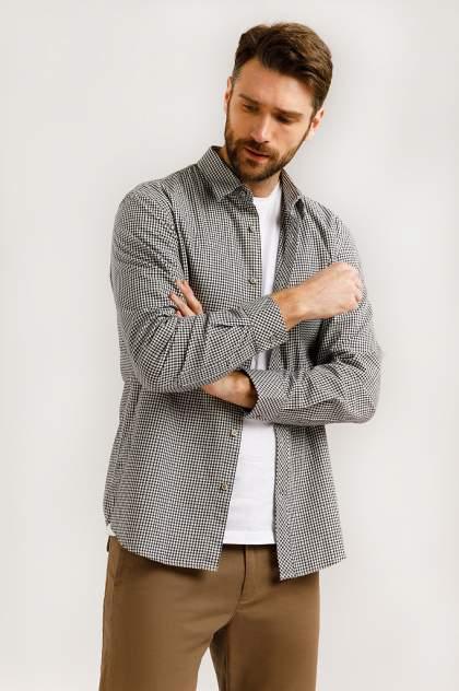 Рубашка мужская Finn Flare B20-22047, синий