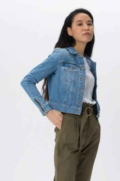 Джинсовая куртка женская Guess W0GN22D3LD2 синяя M