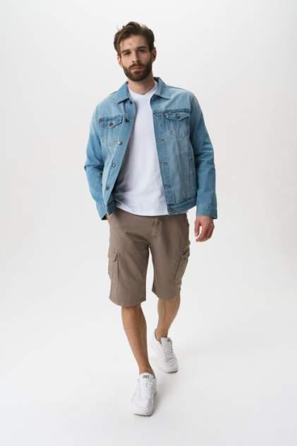 Джинсовая куртка мужская F5 06424/Blue denim голубая M