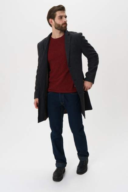 Пальто мужское Casual friday 20502318 серое M