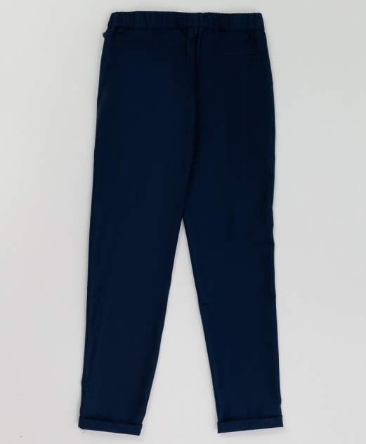 Синие брюки с манжетом BUTTON BLUE 220BBGS63011000, размер 152