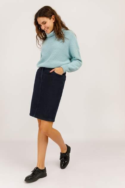 Юбка женская Finn-Flare W19-15002 синяя L