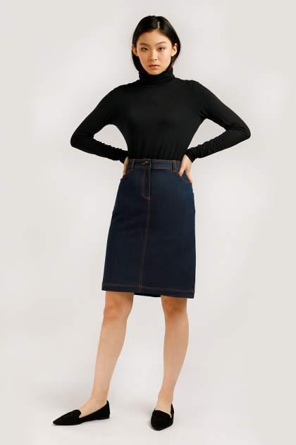 Юбка женская Finn-Flare B20-32029 синяя L