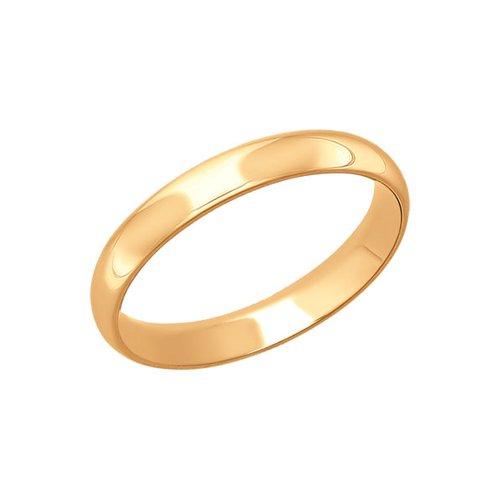 Обручальное кольцо женское SOKOLOV из золота 110126 р.22