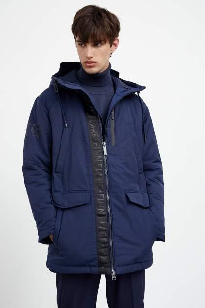 Пальто мужское Finn Flare A20-22005 синее 46