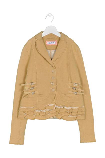 Пиджак детский I Pinco Pallino, цв. золотой, р-р 152