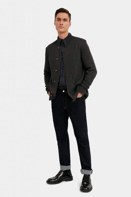 Кардиган мужской Finn Flare A20-21109 серый 54