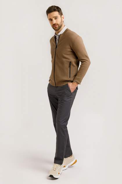 Жакет мужской Finn-Flare B20-21111 коричневый 3XL