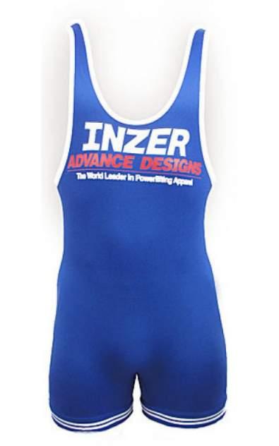 Спортивный комбинезон мужской Inzer Singlet, синий